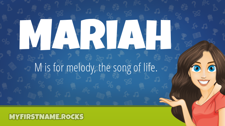 My First Name Mariah Rocks!