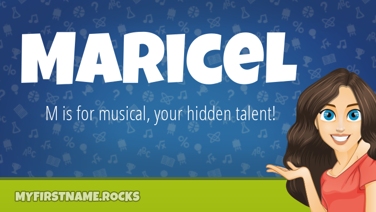My First Name Maricel Rocks!
