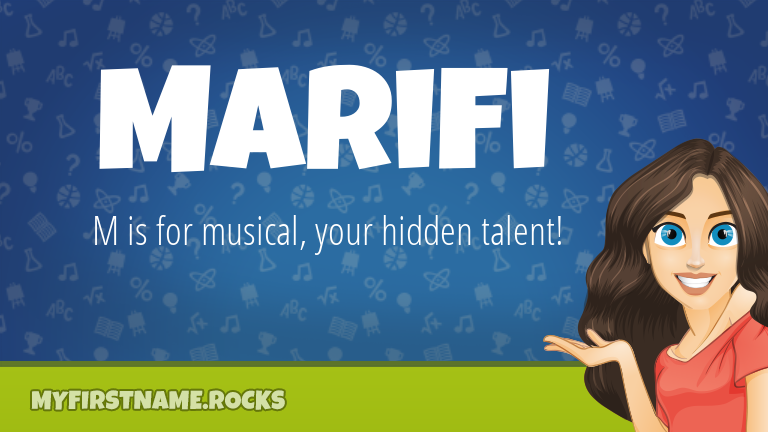 My First Name Marifi Rocks!