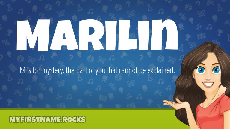 My First Name Marilin Rocks!