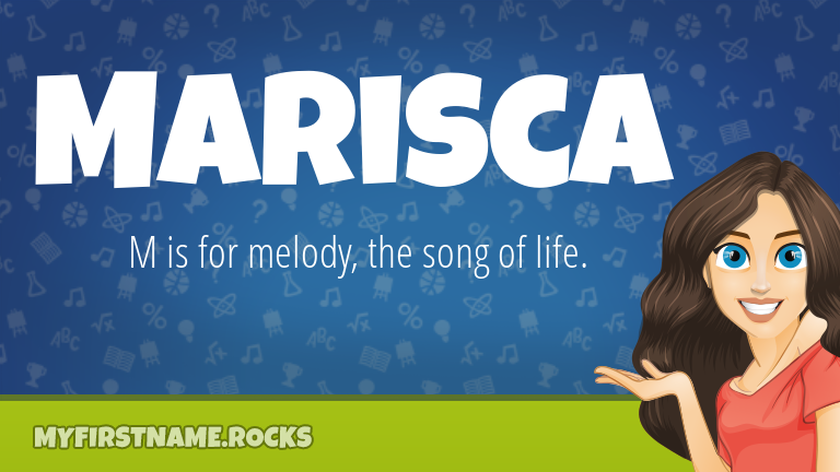My First Name Marisca Rocks!