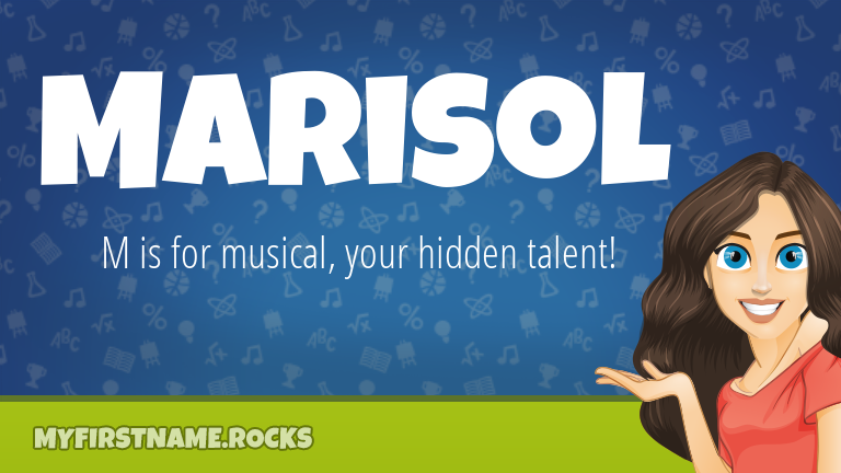 My First Name Marisol Rocks!