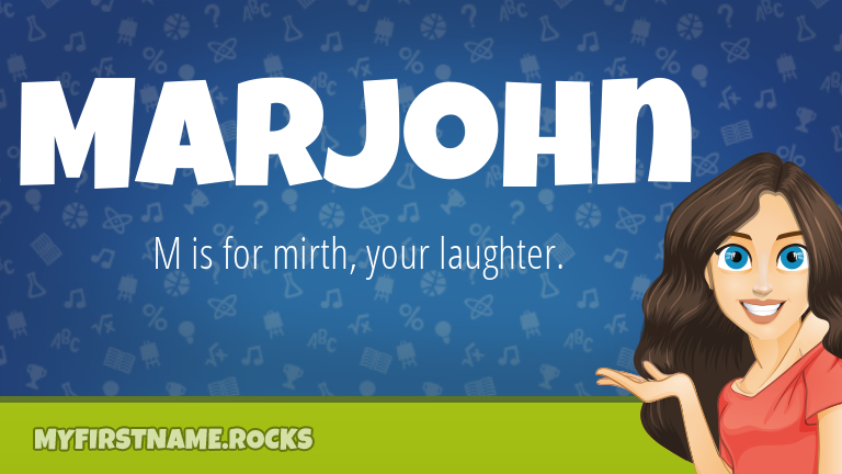 My First Name Marjohn Rocks!