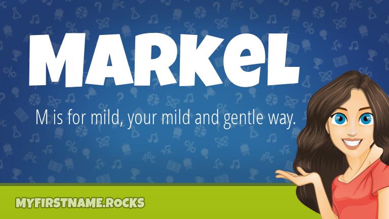 My First Name Markel Rocks!