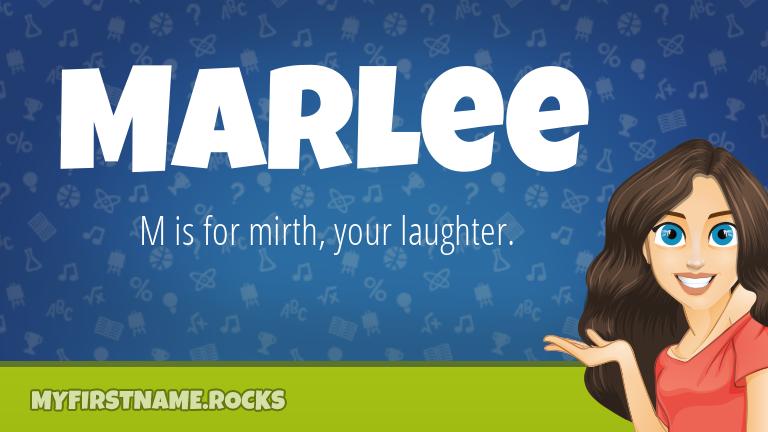 My First Name Marlee Rocks!
