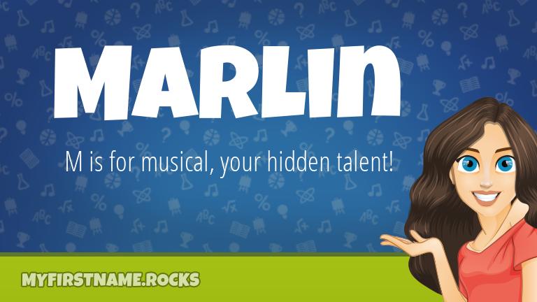 My First Name Marlin Rocks!