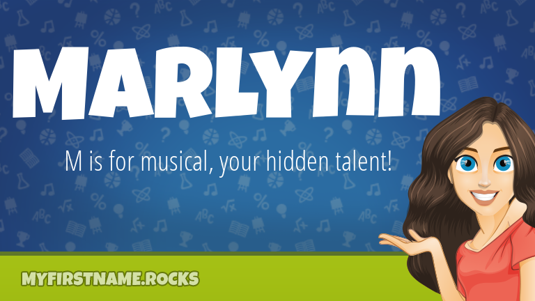 My First Name Marlynn Rocks!