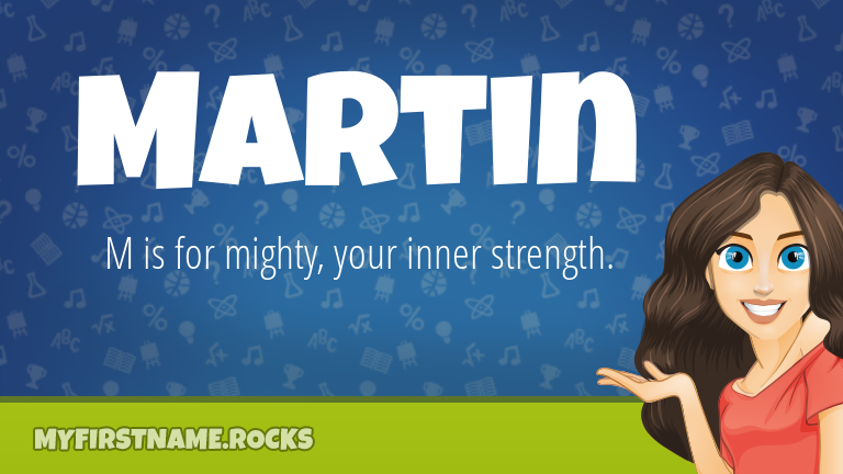 My First Name Martin Rocks!