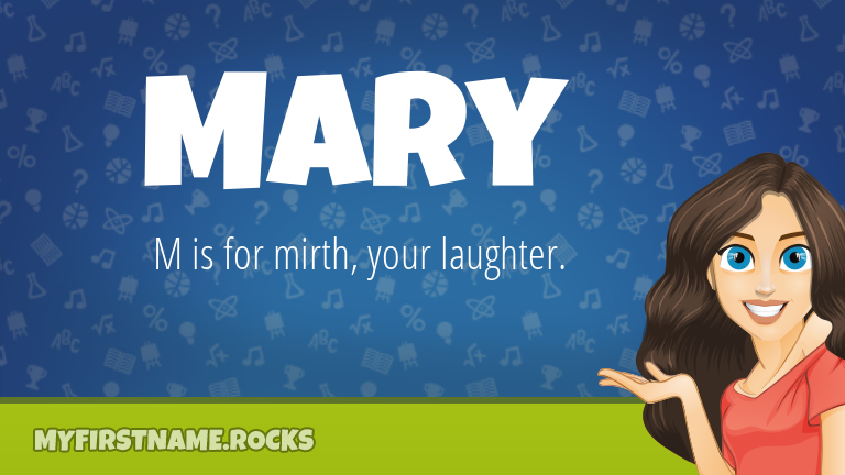 My First Name Mary Rocks!