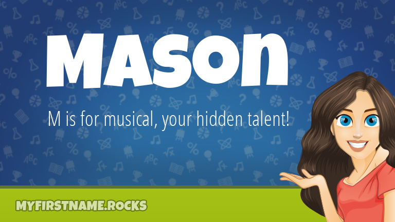 My First Name Mason Rocks!
