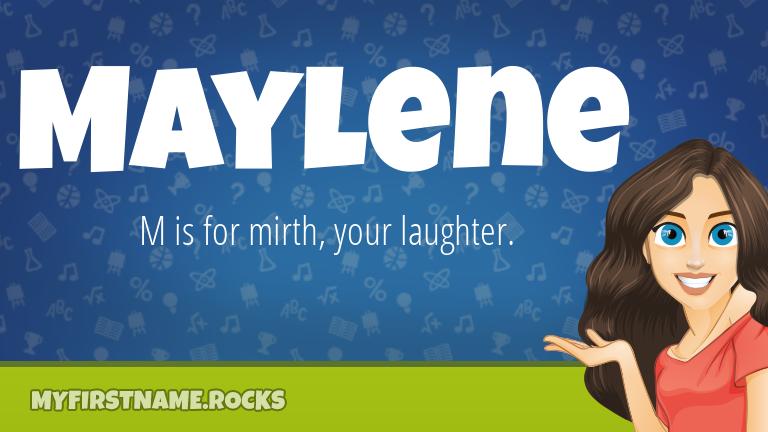 My First Name Maylene Rocks!