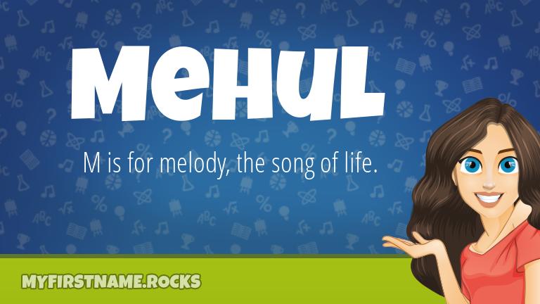 My First Name Mehul Rocks!
