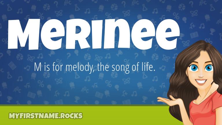 My First Name Merinee Rocks!