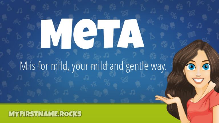 My First Name Meta Rocks!