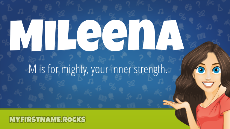 My First Name Mileena Rocks!