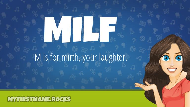 My First Name Milf Rocks!