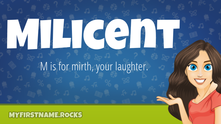 My First Name Milicent Rocks!