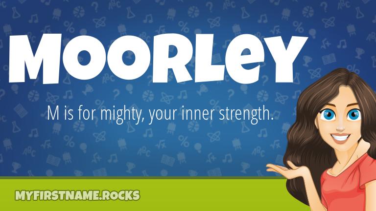 My First Name Moorley Rocks!