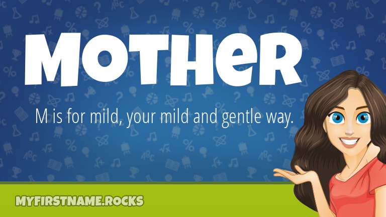 My First Name Mother Rocks!