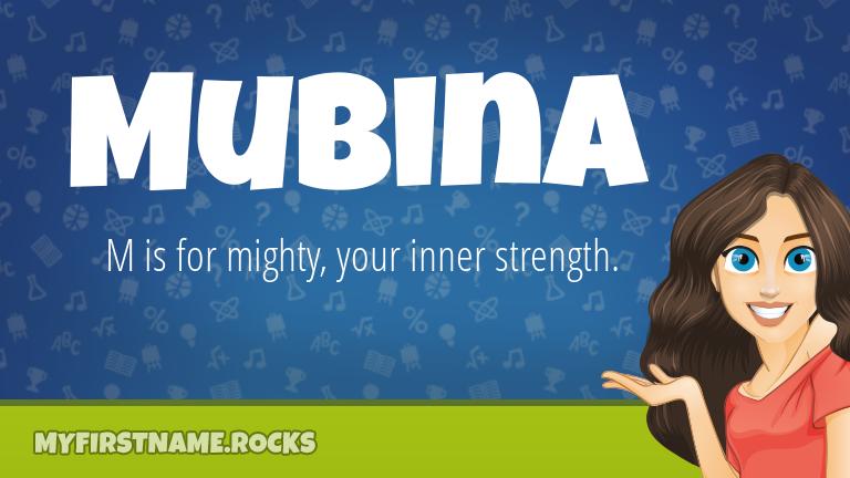 My First Name Mubina Rocks!