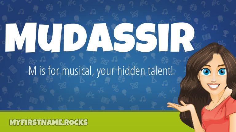 My First Name Mudassir Rocks!