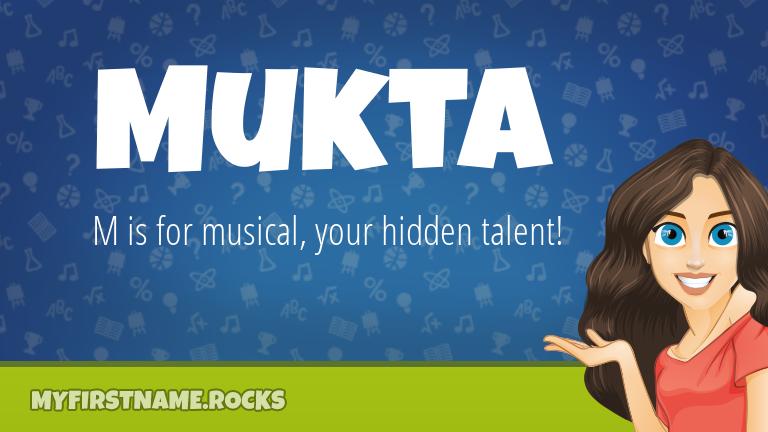 My First Name Mukta Rocks!