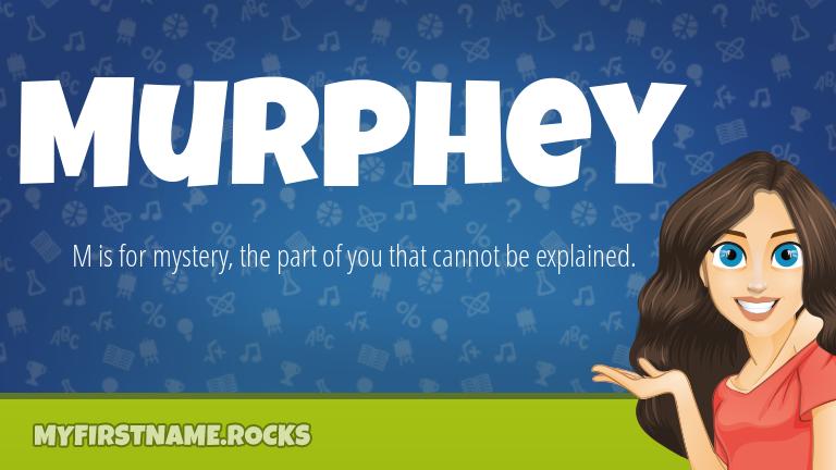 My First Name Murphey Rocks!