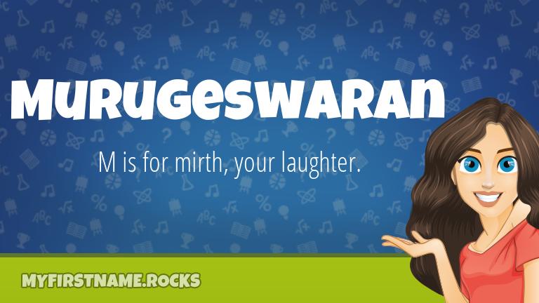 My First Name Murugeswaran Rocks!