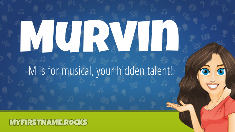 My First Name Murvin Rocks!