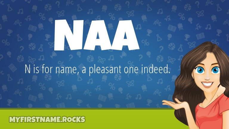 My First Name Naa Rocks!