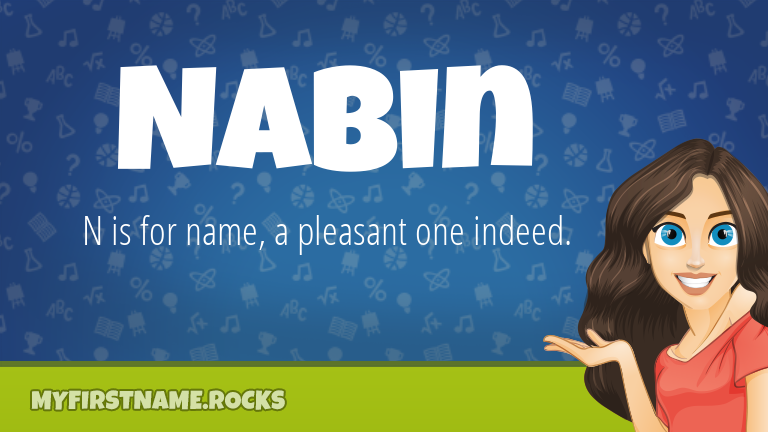 My First Name Nabin Rocks!