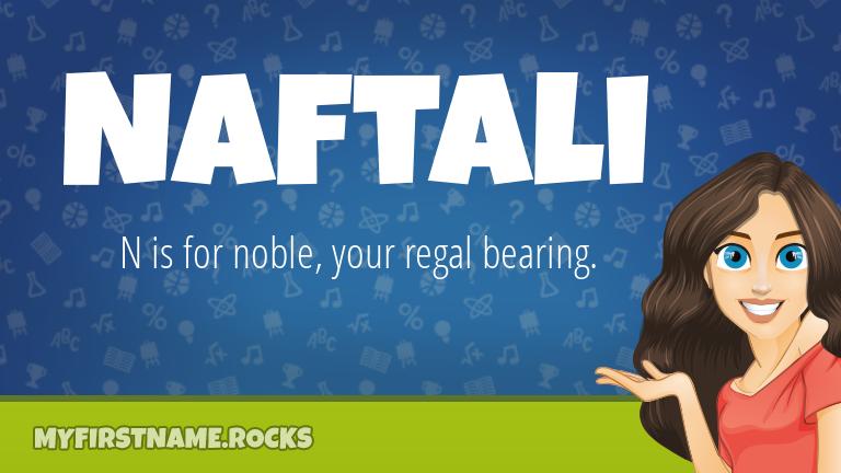 My First Name Naftali Rocks!