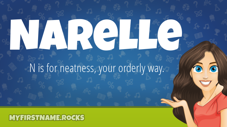 My First Name Narelle Rocks!