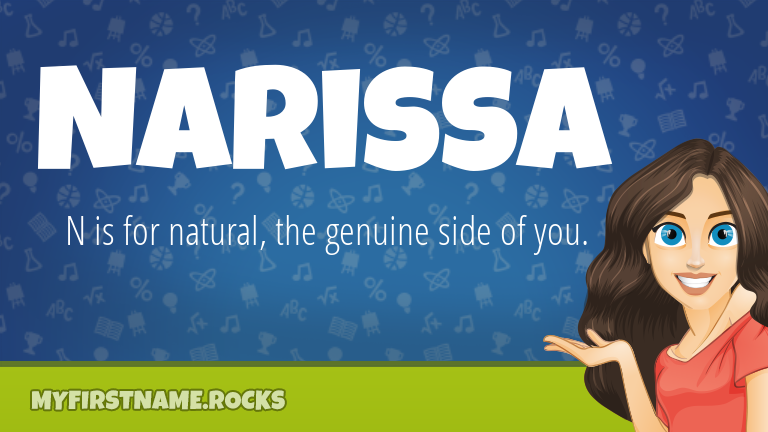 My First Name Narissa Rocks!