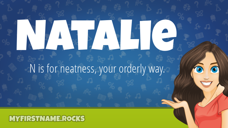 My First Name Natalie Rocks!
