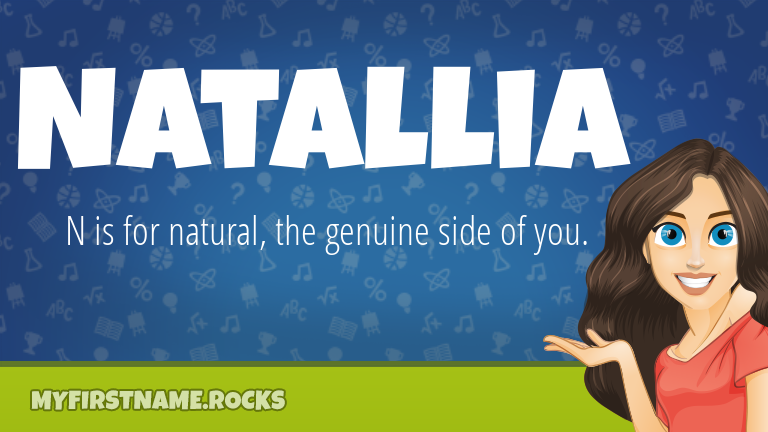My First Name Natallia Rocks!