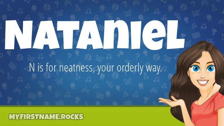 My First Name Nataniel Rocks!