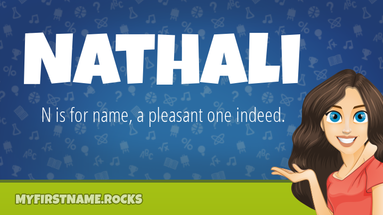 My First Name Nathali Rocks!