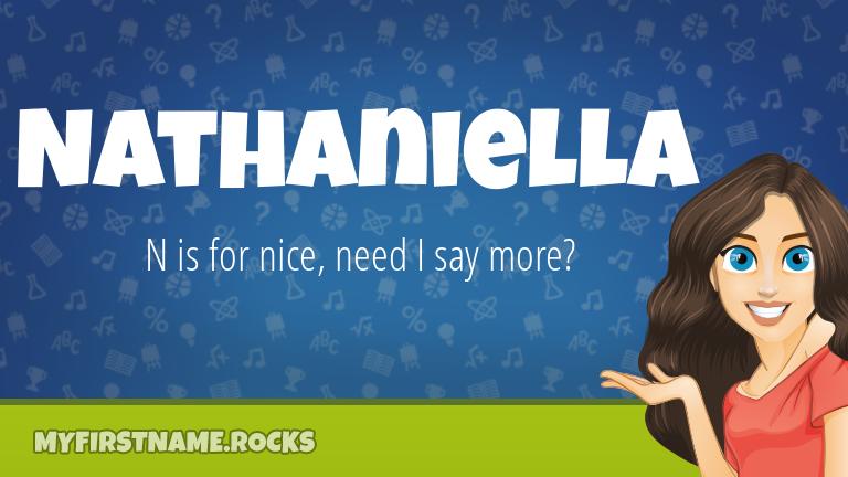 My First Name Nathaniella Rocks!