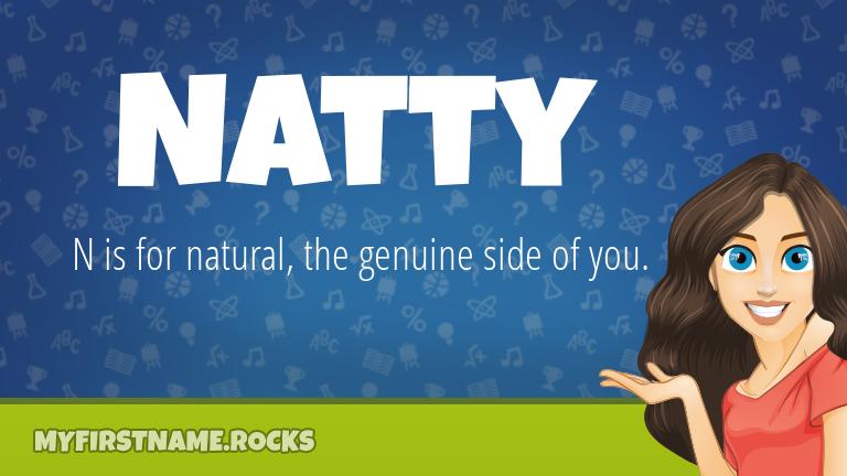 My First Name Natty Rocks!