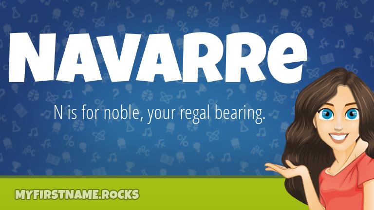 My First Name Navarre Rocks!