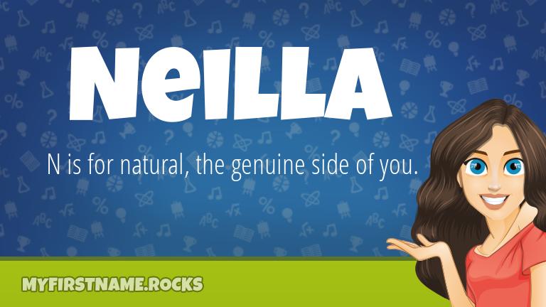 My First Name Neilla Rocks!