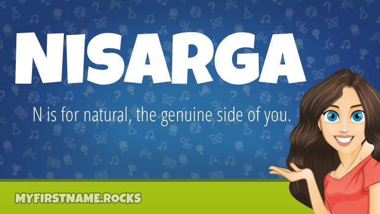 My First Name Nisarga Rocks!