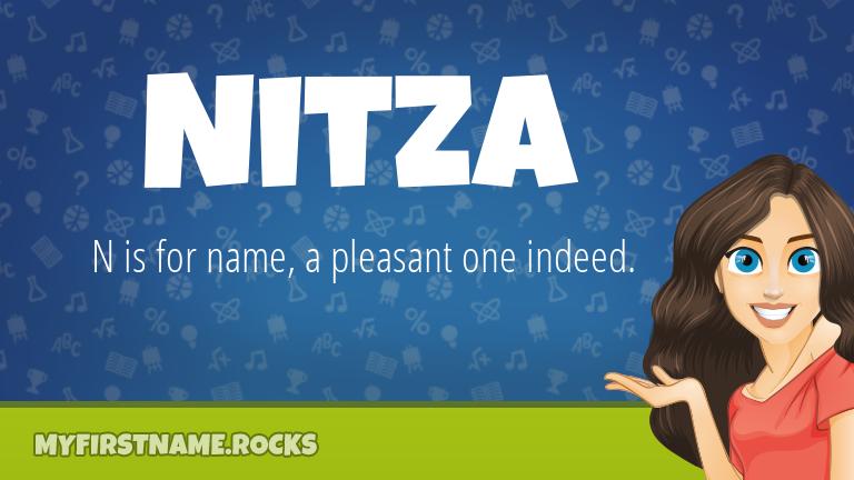 My First Name Nitza Rocks!