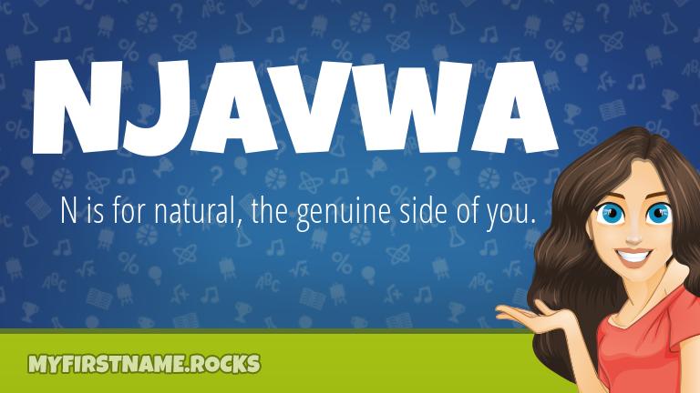 My First Name Njavwa Rocks!
