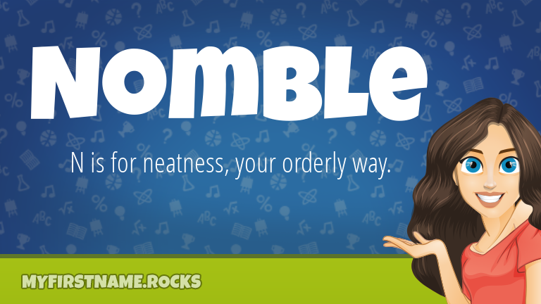 My First Name Nomble Rocks!