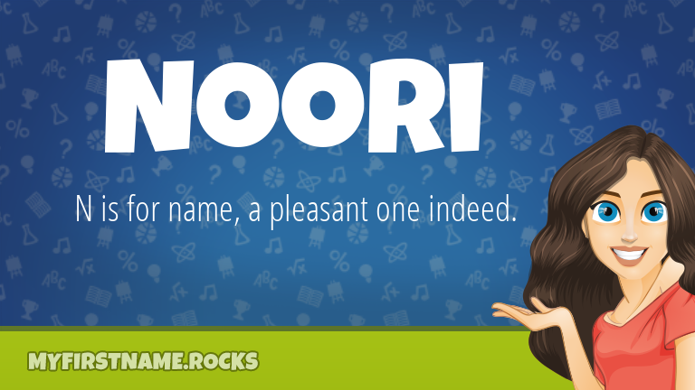 My First Name Noori Rocks!