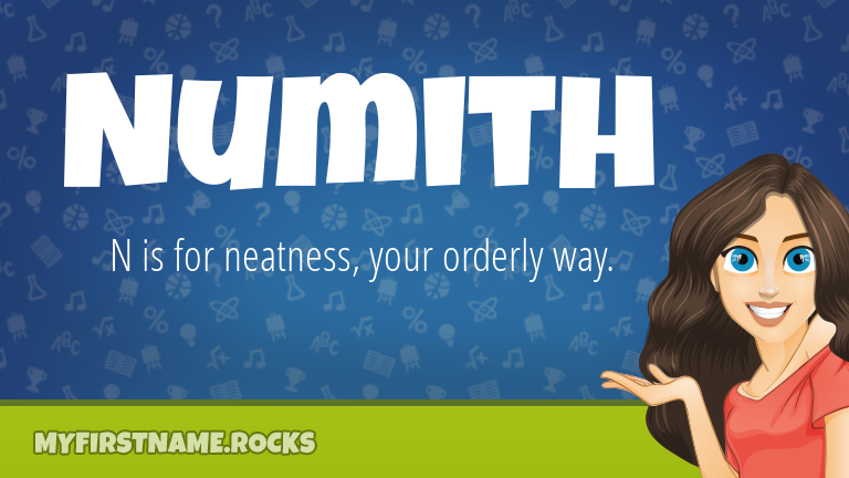My First Name Numith Rocks!