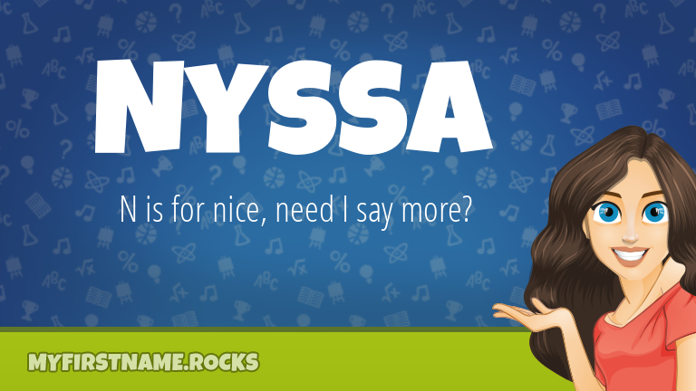 My First Name Nyssa Rocks!