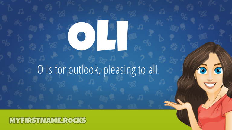 My First Name Oli Rocks!